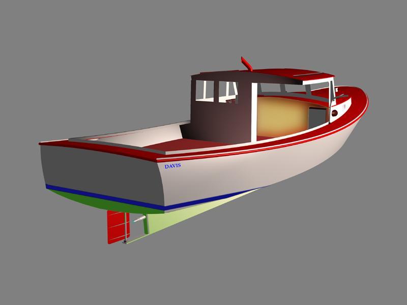 Aluminum lobster boat plans 2014